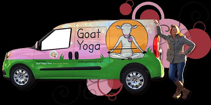 Goat Yoga Van