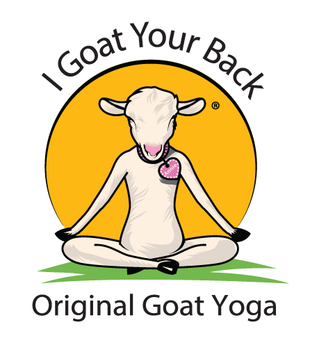 I goat your back decal