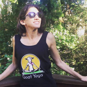 Goat Yoga Tank Top