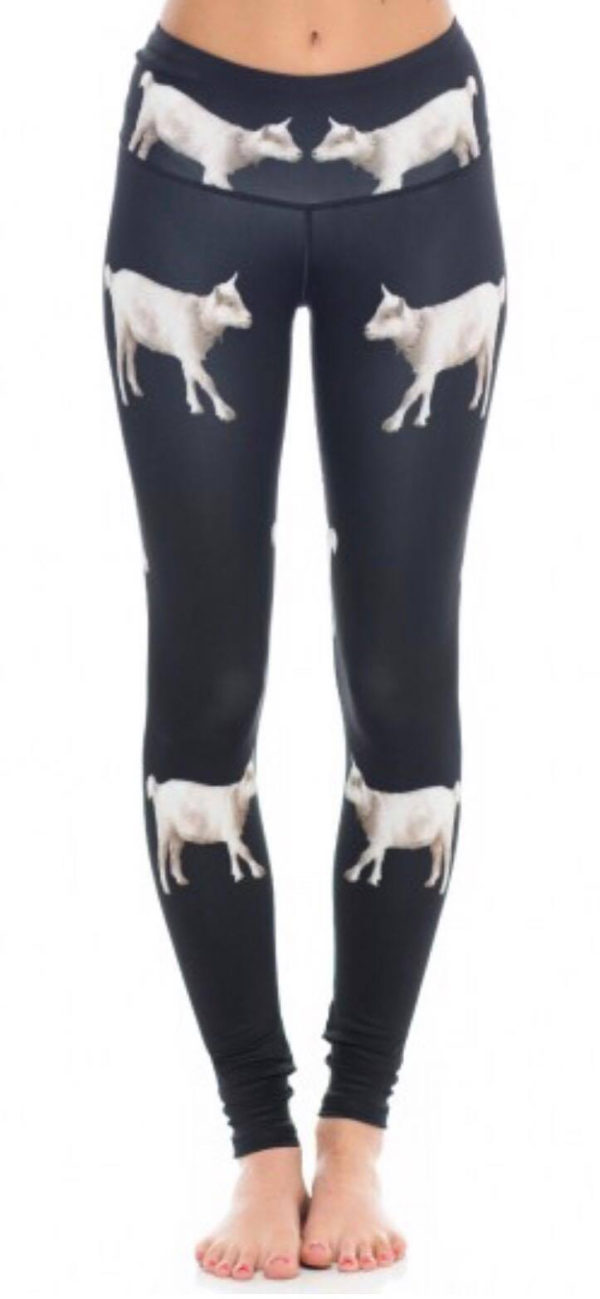 Annie the Goat Yoga Pants