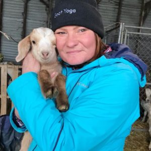 Lainey Morse Founder of Goat Yoga