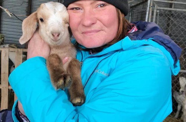 Lainey Morse Founder of Goat Yoga