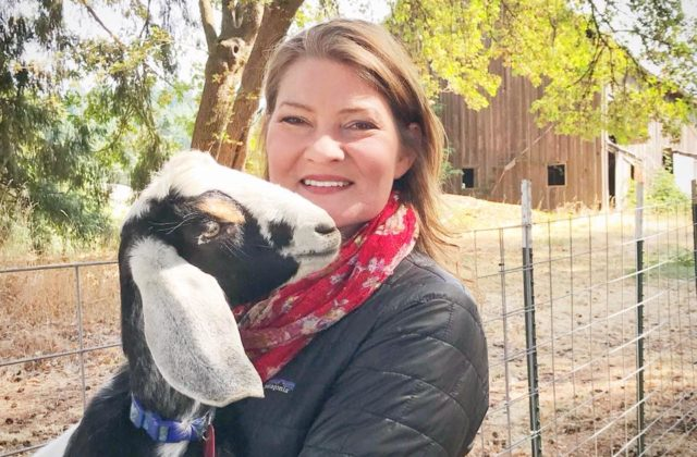 Lainey Morse- Founder of Goat Yoga